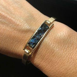 Fun blue stone bracelet from Nordstrom's Baublebar